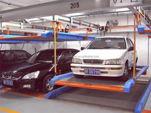 Puzzle Intelligent Garage Car Stacking System