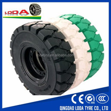 Solid forklift Loda brand good quality solid forklift tyre 18x7-8