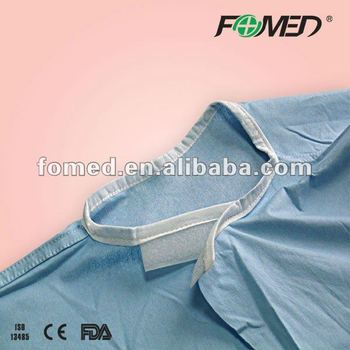 plastic isolation gown