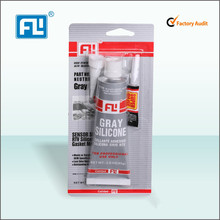 FL auto silicone sealant Gray Automotive Silicone RTV Gasket Maker for Import and export