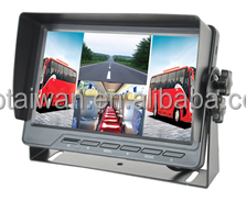 "C-CM751MQ, 7"" Monitor with Quad screen function for truck"
