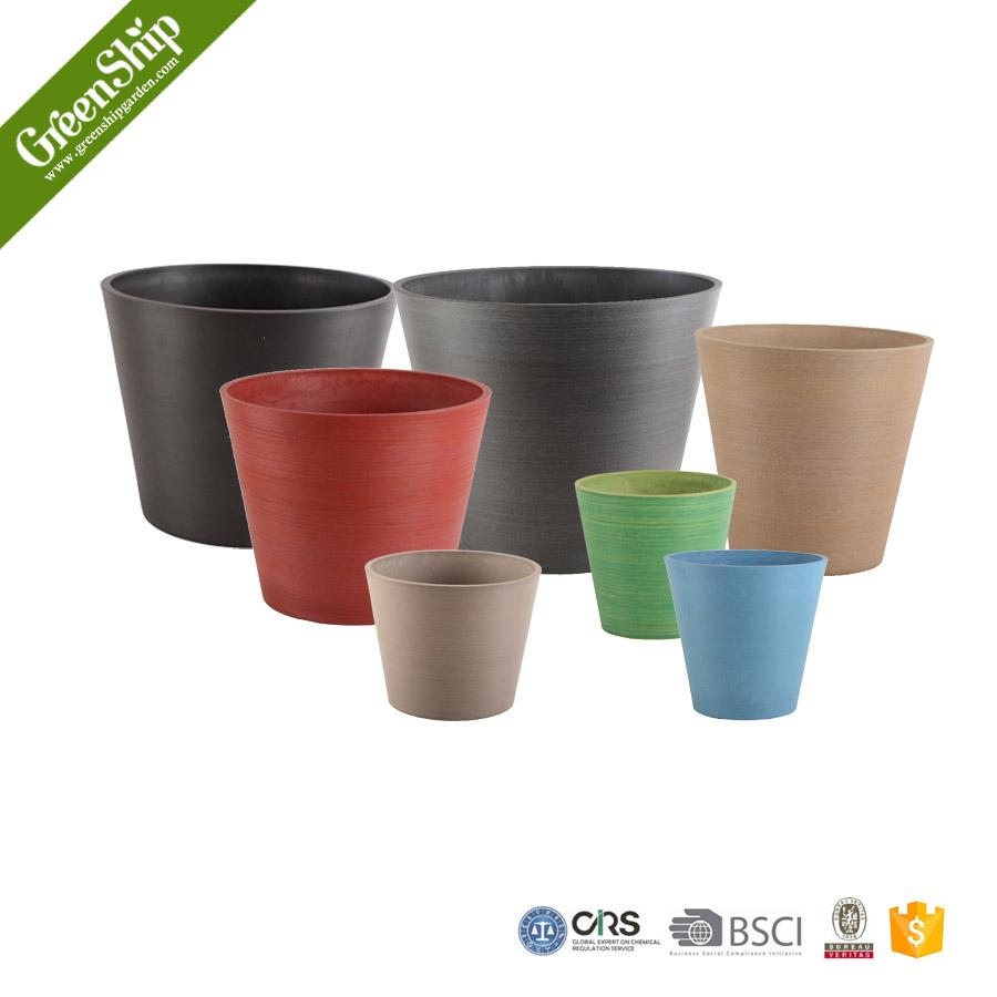 uv protetive plastic plant pots wholesale greenship. Black Bedroom Furniture Sets. Home Design Ideas