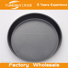 Tsingbuy wholesale Round Barbecue Grill Plate Steak Pizza Barbecue Pans Stone Plate Barbecue Pizza Pans