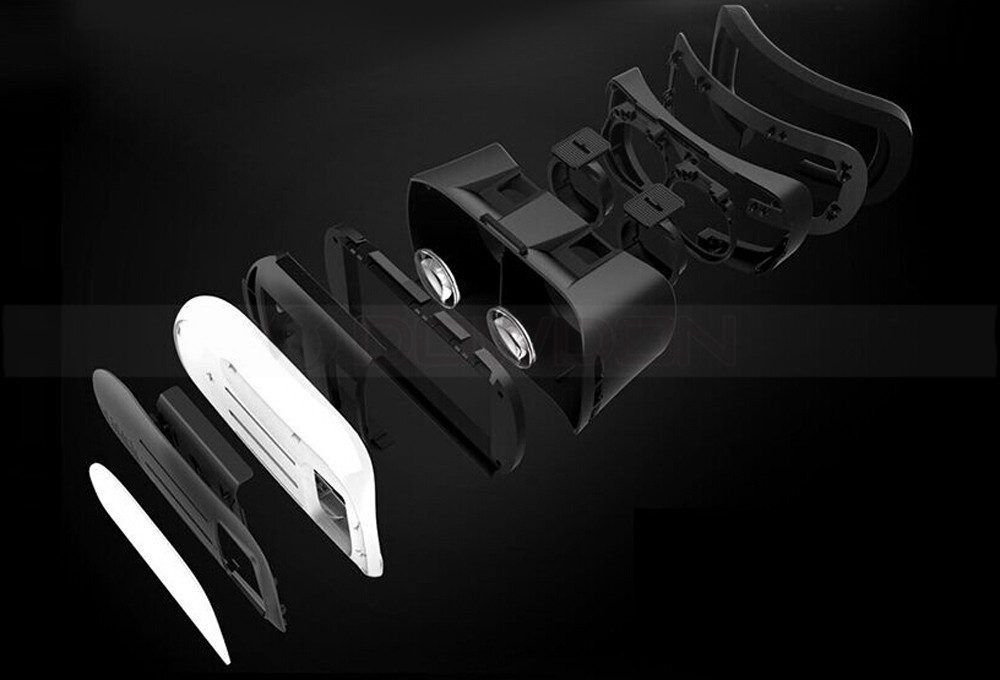 Universal Google Cardboard VR BOX 2 Virtual Reality Game Movie 3D Glasses For iPhone Mobile Phone