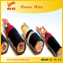 XLPE or PVC insulation power cable 5x4mm2 by IEC or BS standard