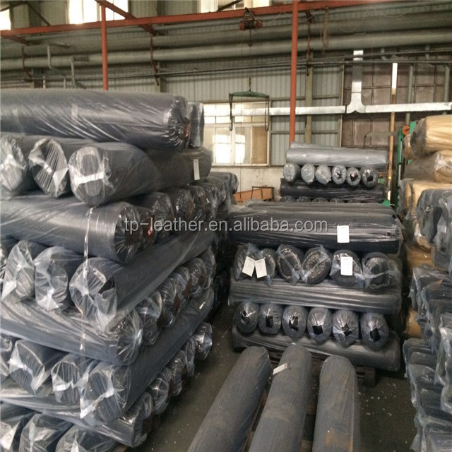 PU Or PVC Artificial Stock lot Leather For Bag,Shoe,Sofa