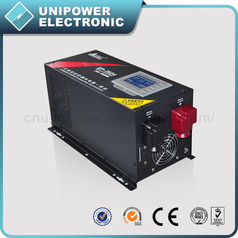 New Pure Sine Wave Form DC to AC Power Inverter 12V 220V 2000W