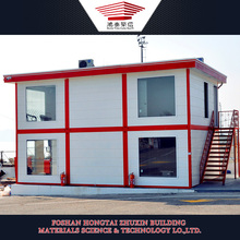 Portable Dormitory Accommondation Prefabricated Houses Container