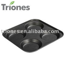 4 Cup Carbon Steel Non-stick Muffin Pan(TR-M2323)