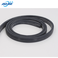 thin extruded heat-resistant silicone rubber seal strip