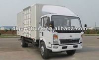 HOWO truck van with engine 99PS 008615826750255 (Whatsapp)