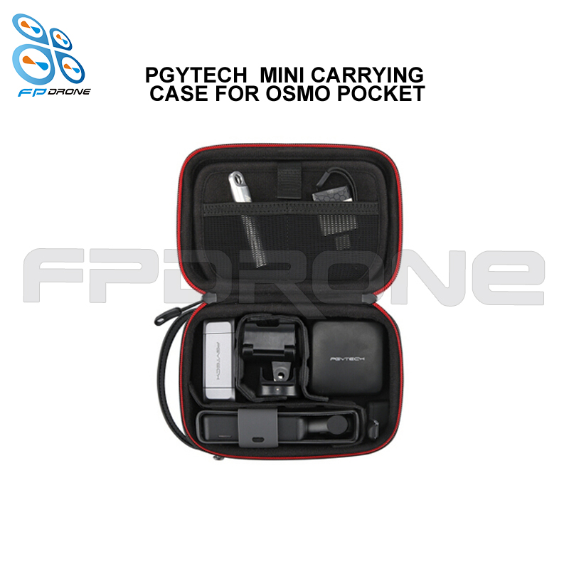 Hot-sale PGYTECH <strong>P</strong>-18C-<strong>021</strong> OSMO Pocket Spare Parts Waterproof Mini Carrying Case for on sale drone accessory