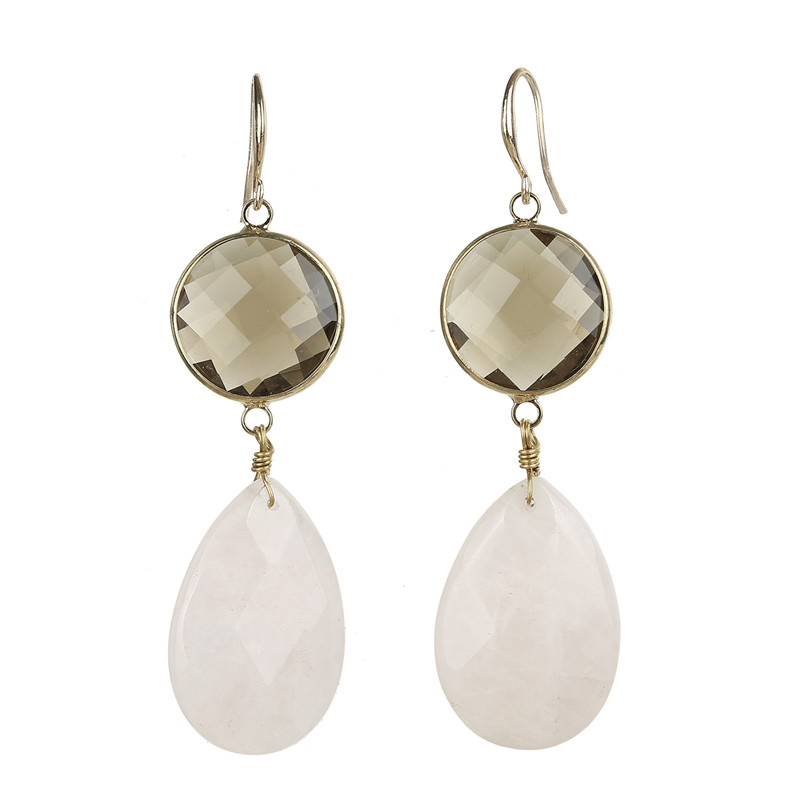 Minimalist Baroque Pearl Earrings For Bridesmaid Gift