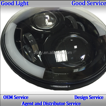 Custom Motorcycle LED Projector Headlights For Harley Davidson