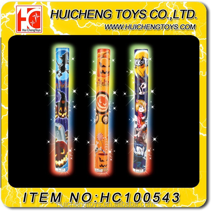 best Halloween led glow foam flashing stick cheering toys EN71