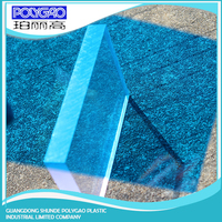 clear transparent solid sheet roof sheet prices