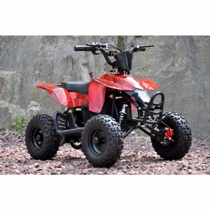 500W 800W Electric ATV Mini 4 Wheeler 12Ah or 20Ah 36V QUAD BIKE QWMATV-01C