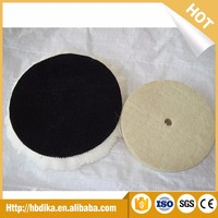 Single Double Sided Wool Polishing Buffing Pad