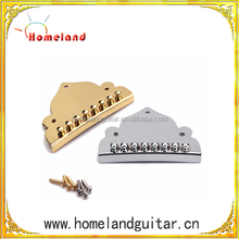 High Quality Practical Plated Tailpiece for Mandolin Chrome