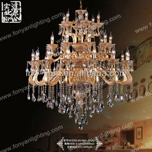 Pop plastic colored chandeliers MD2045-15+9+6
