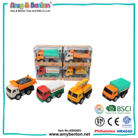 Interesting friction power cheap plastic toy trucks and trailers