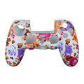 High Qulity Colorful Print Silicone Case for PS4 Controller