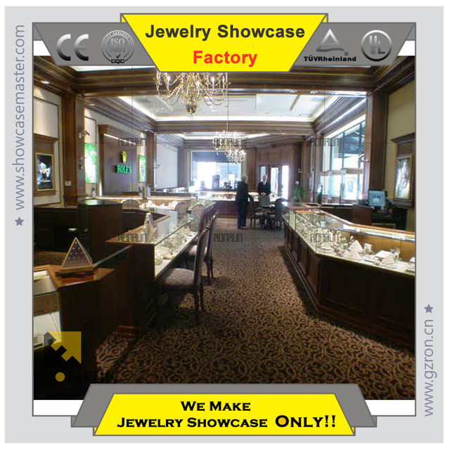 display cabinet for jewelry Stylish interior design ideas jewellery shops high-end Lowest price