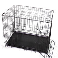 "24"" 30"" 36"" 42"" 48"" Portable Metal Wire Folding Pet House Dog Cage"