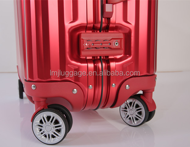 Korea style Luggage High Quality metal retractable case With Reasonable Price cabin luggage