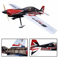 "gas balsa wood airplane model Sbach-342 74.8"" arf giant scale rc airplane"