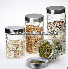 high quality swing top glass jar for promotion