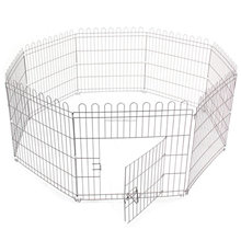 New Design Pet Play Pen Dog Puppy Folding Cage Run Garden Kennel