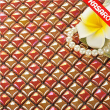 Gold Color Glass Mosaic Tile,Asian Mosaic Tiles,Elegant Glass Mosaic Tiles