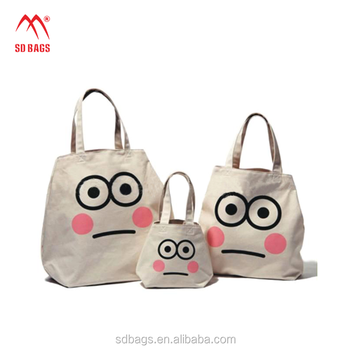 High Quality wholesale Custom Logo shopping canvas cotton tote bag With Handle