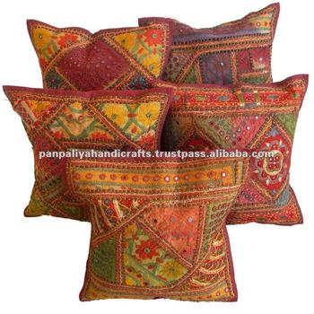 Wholesale lots assorted mix cushion covers banjara style cushion covers