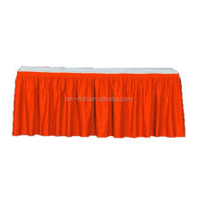 Popular table skirting designs for wedding
