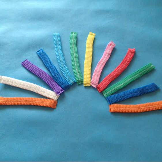 Colorful nonwoven clip cap , disposable mob caps,disposable hair net