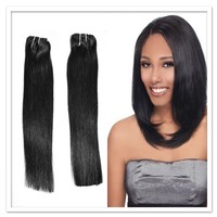 rooster feather hair extension unprocesse hair weft brazilian virgin hairhair weft brazilian virgin hair