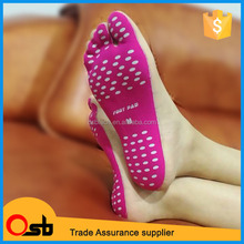 2017 New Stick-on Soles Nakefit Sticker Invisible Shoes for Beach Soles
