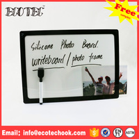 Decorative magnetic glass sticker dry erase whiteboard