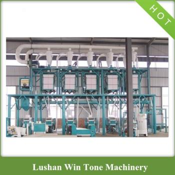 Hot Sale in Romania Wheat Flour Mill Machine