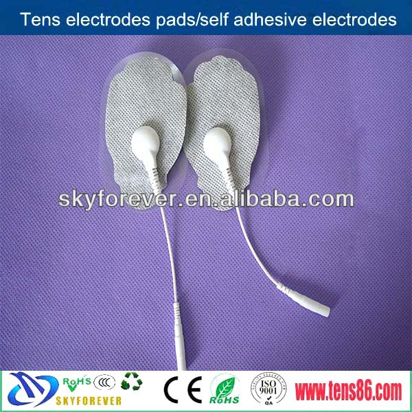 self-adhesive tens gel pads/muscle electrodes pads for pain management