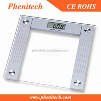 Large LCD display Electronic talking bathroom body weight scale