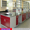 High School Professional Lab Pathology Lab Equipment / Floor mounted Work Bench From China