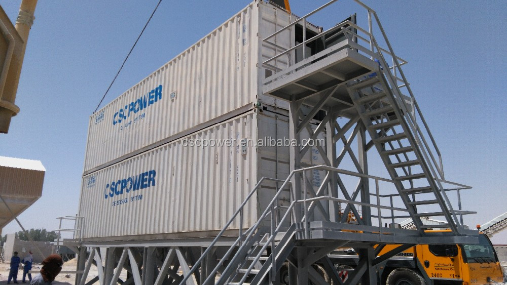 CSCPOWER Ice plant for concrete cooling with reasonable price