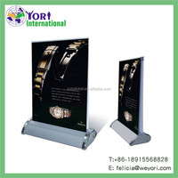 YORI hand held banners table top roll up display