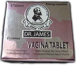 DR JAMES VAGINAL TIGHTENING TABLETS IN PAKISTAN 03437511221