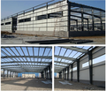 High quality heavy steel frame structure warehouse