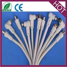 tv male plug to tv female jack tv antenna cable