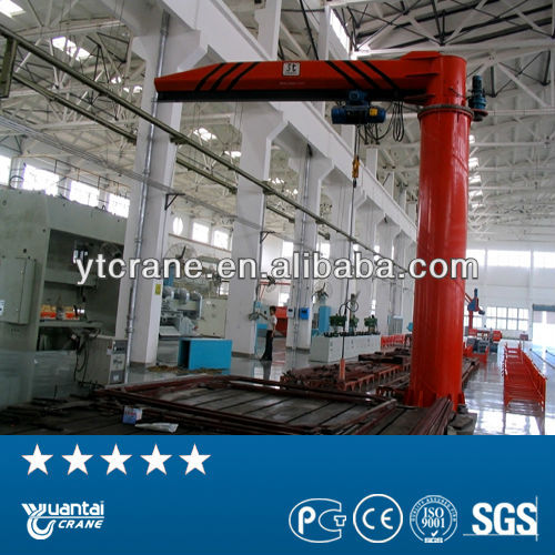 electric hoist fixed light duty loader jib crane price